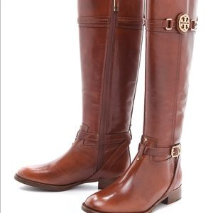 Tory Burch Nadine Tall leather Riding Boots